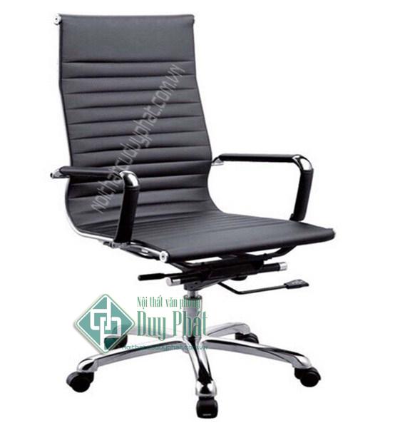 Mẫu thiết kế ghế văn phòng chất liệu da giả