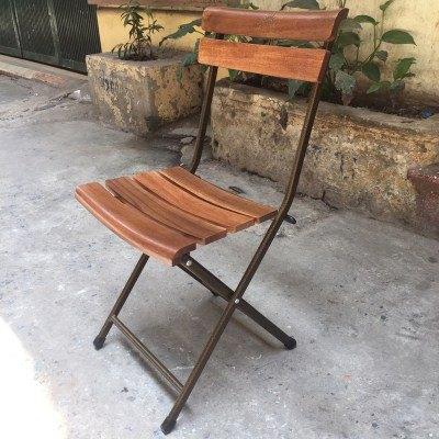 Mẫu bàn ghế quán cafe đẹp làm bằng gỗ Mango