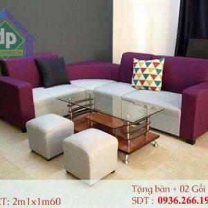 Mẫu sofa thanh lý tại Vĩnh Phúc bằng chất liệu nỉ