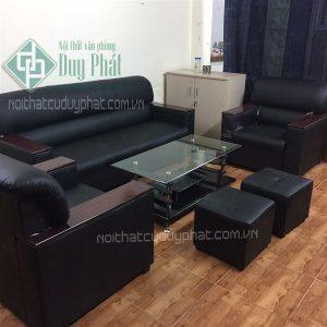 Mẫu thanh lý sofa Hà Nội chất lượng da