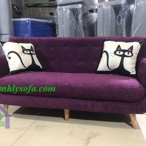 Mẫu sofa thanh lý tại Hà Nội bằng chất liệu nỉ