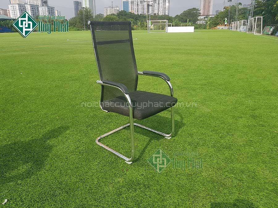 Thanh lý ghế chân quỳ lưng lưới mới 100% tại Hà Nội (GQL550)
