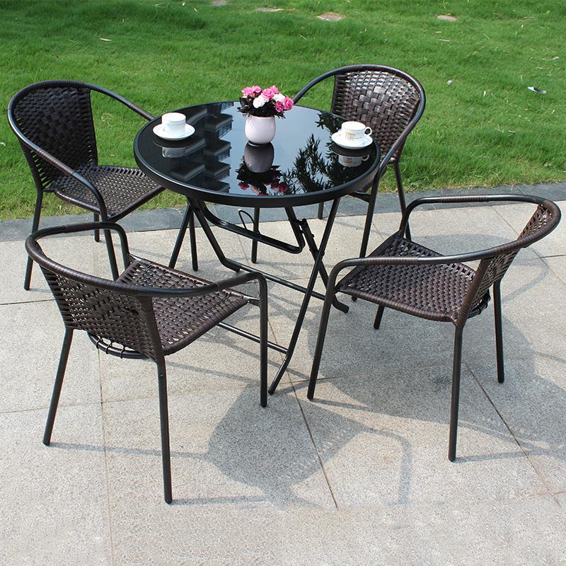 Mẫu bàn ghế cafe ngoài trời đẹp