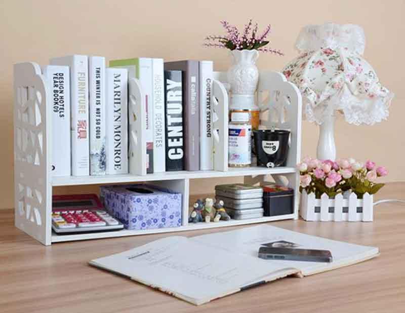 Các mẫu kệ sách văn phòng hiện đại đơn giản mà vẫn đẹp lung linh